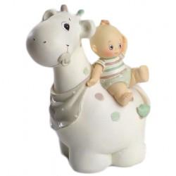 Figura tarta bebe jirafa niño
