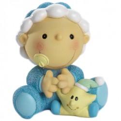 Figura tarta bebe niño estrella
