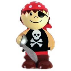 Imán niño pirata