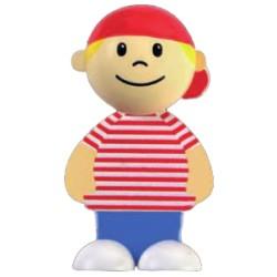 Imán niño gorra