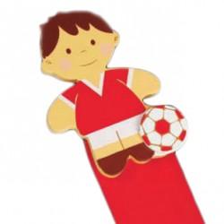 Marca páginas futbolista