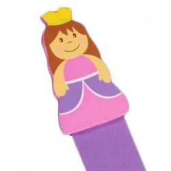 Marca páginas princesa