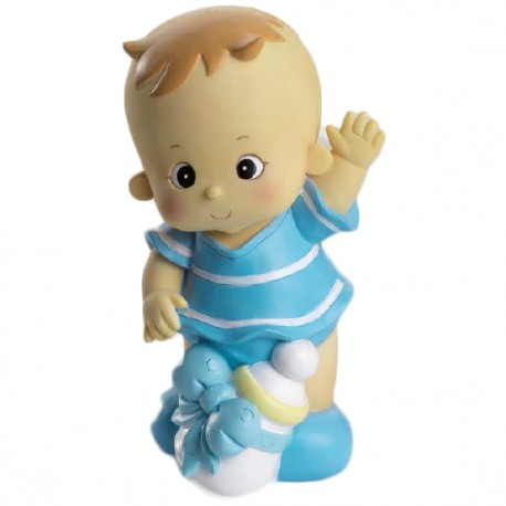 Figura tarta bebe niño biberón