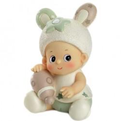 Figura tarta bebe conejito