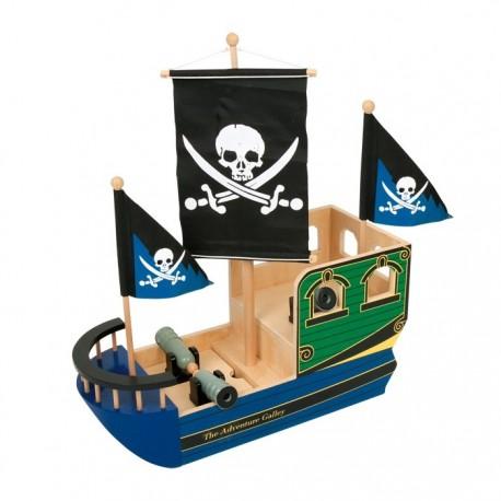 """Barco pirata """"Calavera"""""""