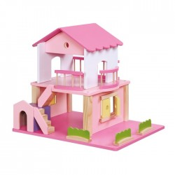 Casa de muñecas pink