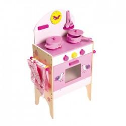 Horno de cocina con accesorios